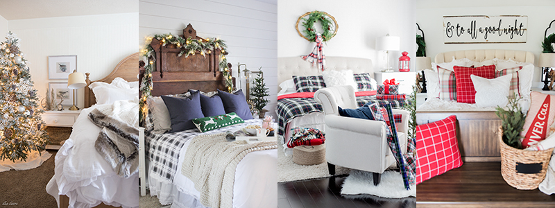 Farmhouse Holiday Bedrooms